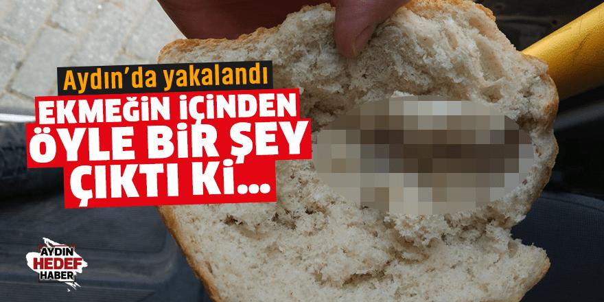 Aydın'da ekmeğin içinden öyle bir şey çıktı ki…