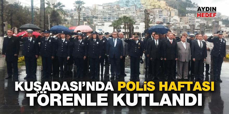 Kuşadası'nda polis haftası törenle kutlandı