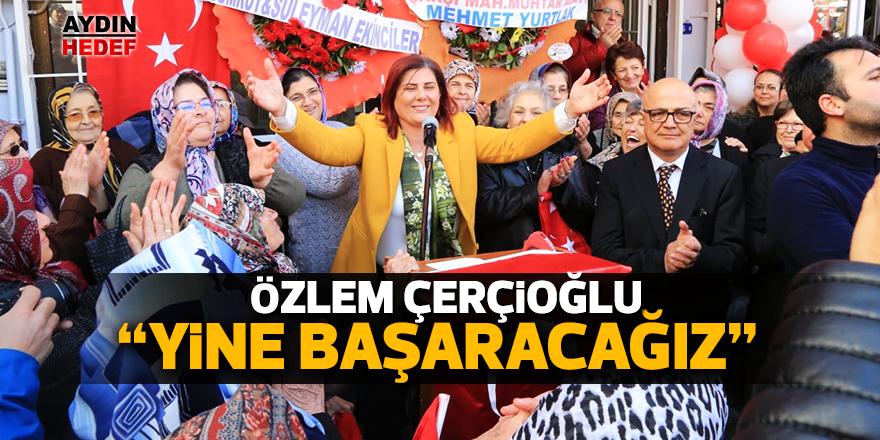 """Çerçioğlu: """"Yine başaracağız"""""""
