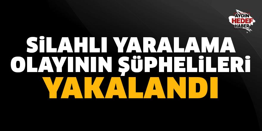 Aydın'da silahlı yaralama olayının şüphelileri yakalandı