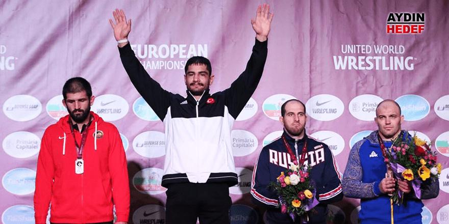 Taha Akgül 7. kez Avrupa şampiyonu