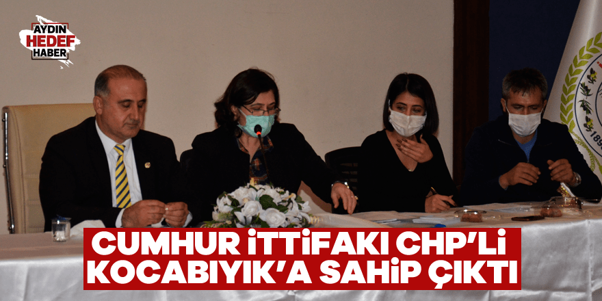 Cumhur İttifakı CHP'li Kocabıyık'a sahip çıktı
