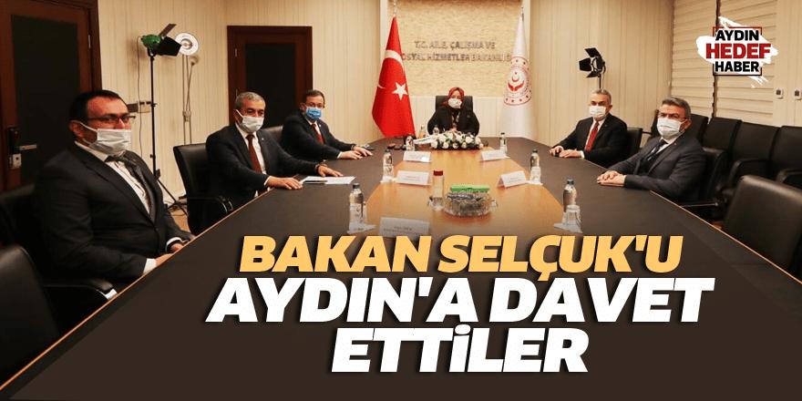 Bakan Selçuk'u Aydın'a davet ettiler