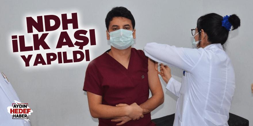 NDH ilk aşı yapıldı