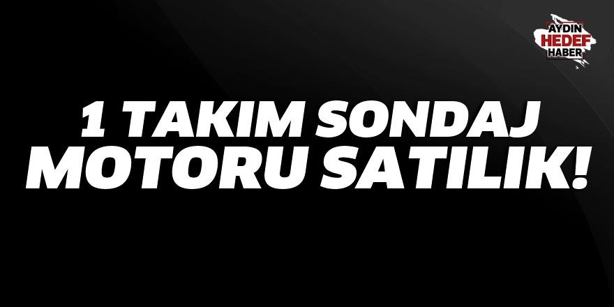 Aydın'da sondaj makinası satılık