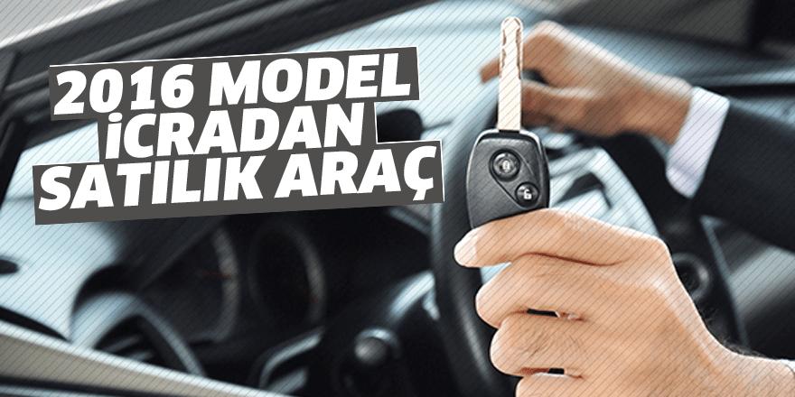 2016 model icradan satılık araç