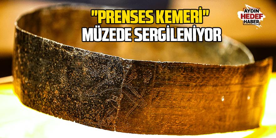 """2 bin 800 yıllık """"prenses kemeri"""" müzede sergileniyor"""