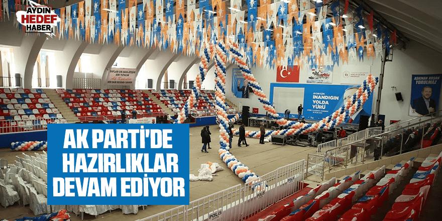 AK Parti'de kongre hazırlığı devam ediyor