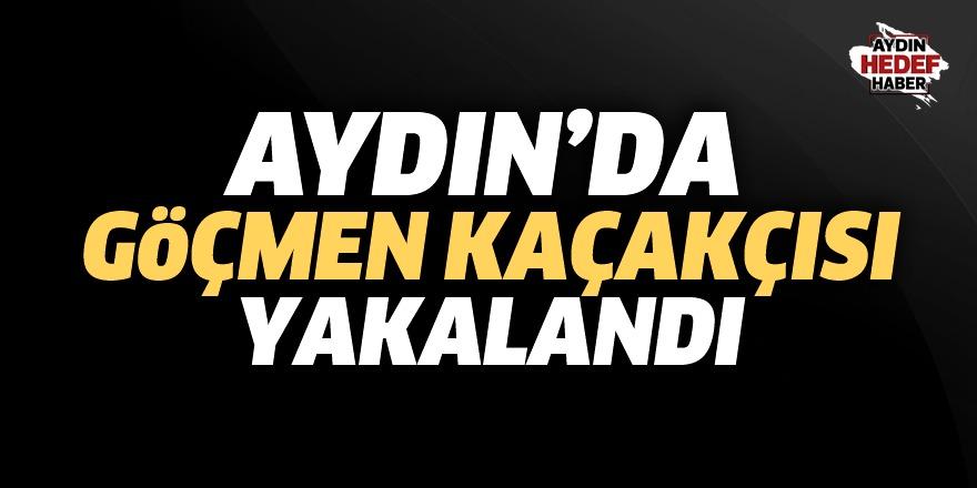 Aydın'da göçmen kaçakçısı yakalandı