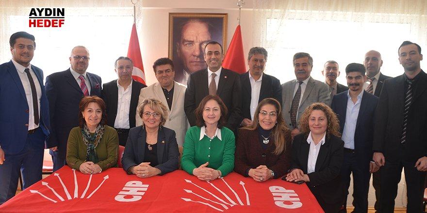 CHP Nazilli'nin yeni yönetimi tanıtıldı
