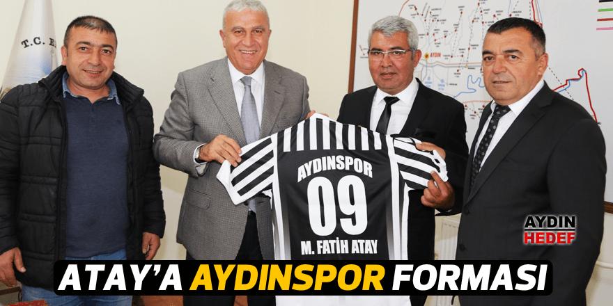 Atay'a Aydınspor forması