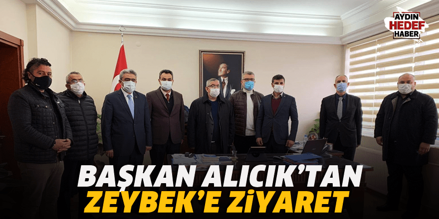 Alıcık'tan Zeybek'e ziyaret