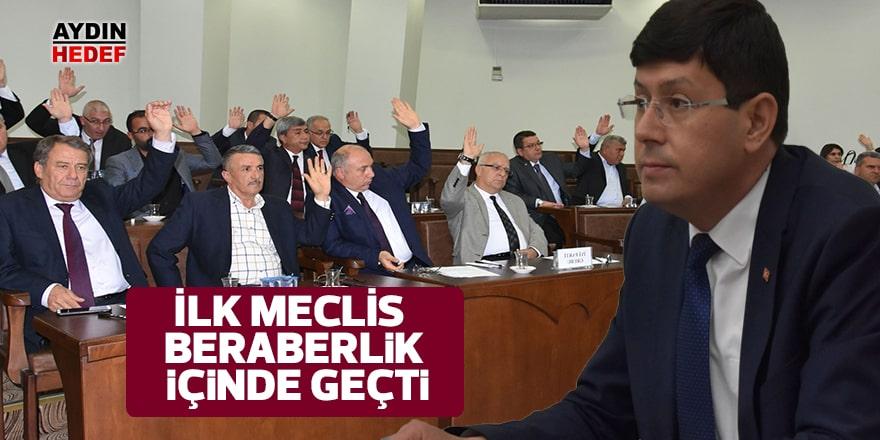 Nazilli'de ilk meclis beraberlik içinde geçti