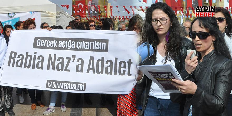 Aydın'da 'Rabia Naz' için adalet çağrısı