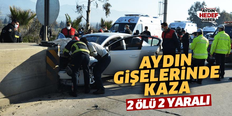 Otoban gişelerinde feci kaza: 2 ölü 2 yaralı
