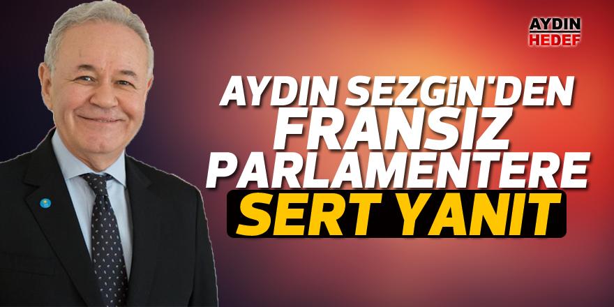 Aydın Sezgin'den Fransız Parlamentere sert yanıt