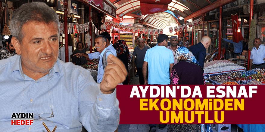 Aydın'da esnaf ekonomiden umutlu