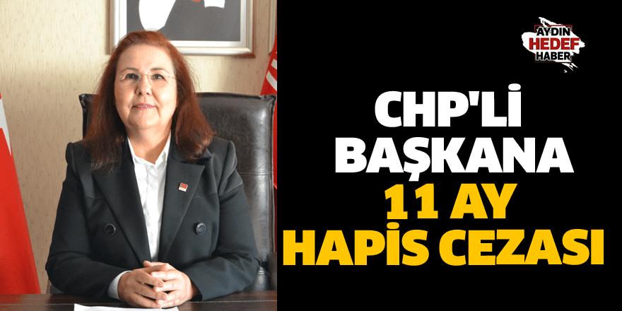 CHP'li başkana 11 ay hapis cezası