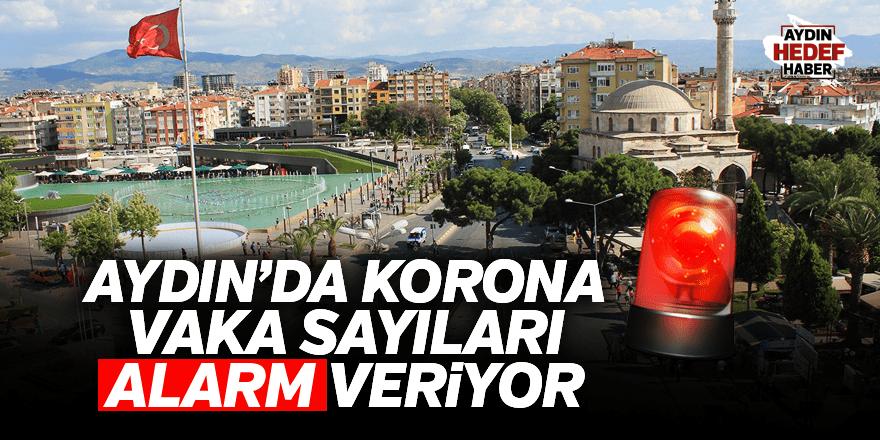 Aydın'da korona vaka sayıları alarm veriyor