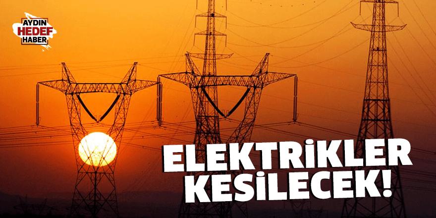 Didim'de elektrik kesintisi yaşanacak
