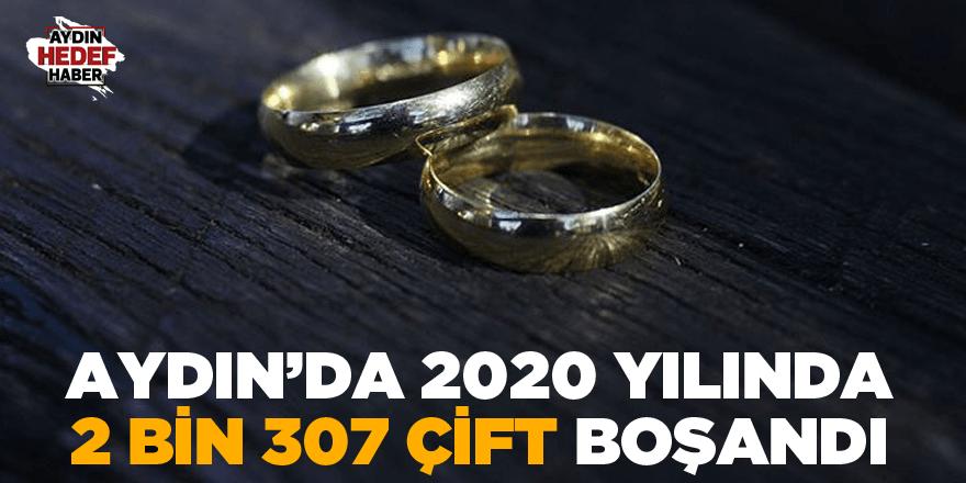 Aydın'da 2020 yılında 2 bin 307 çift boşandı