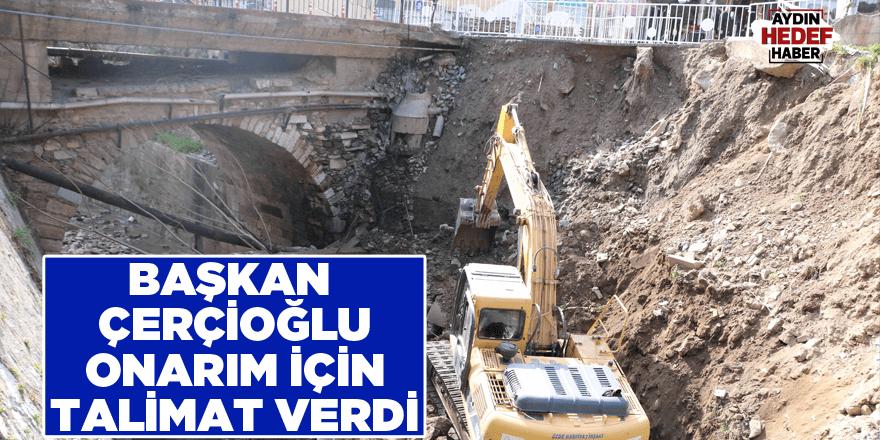 Başkan Çerçioğlu onarım için talimat verdi
