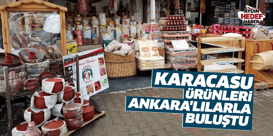 Karacasu ürünleri Ankara'lılarla buluştu