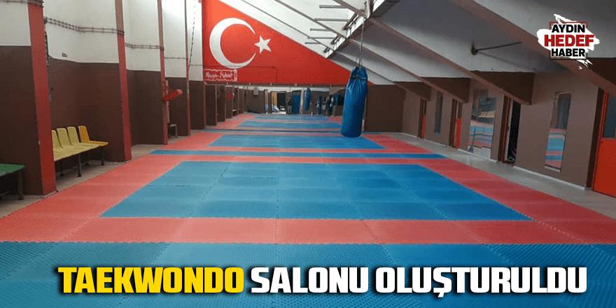 Taekwondo Salonu oluşturuldu