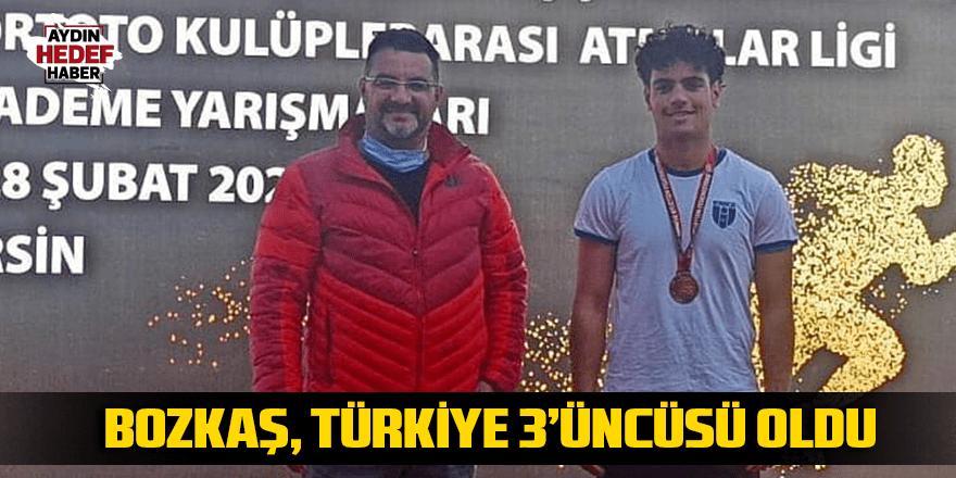 Bozkaş, Türkiye 3'üncüsü oldu