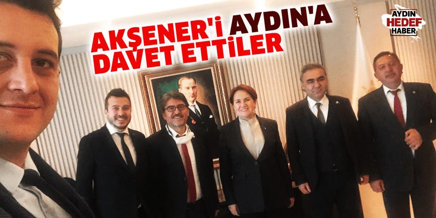 Akşener'i Aydın'a davet ettiler