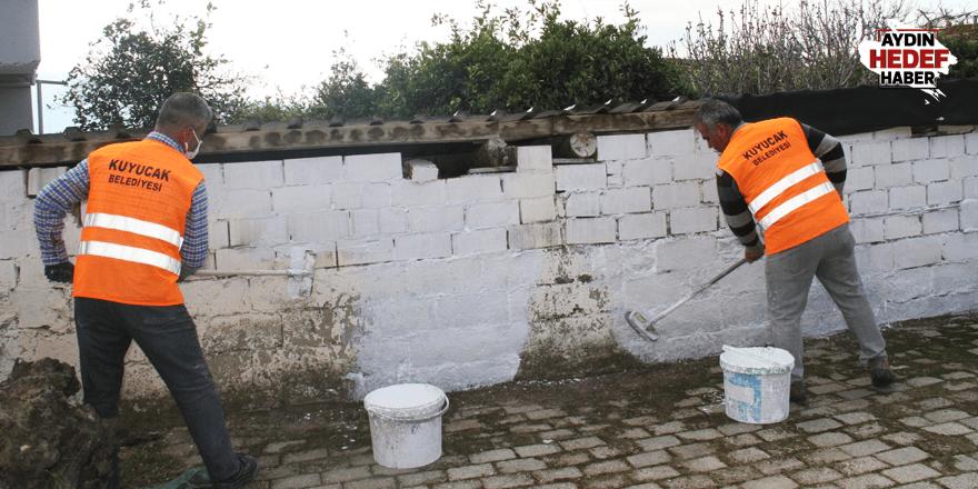 Kuyucak'ta temizlik çalışmaları hız kesmiyor