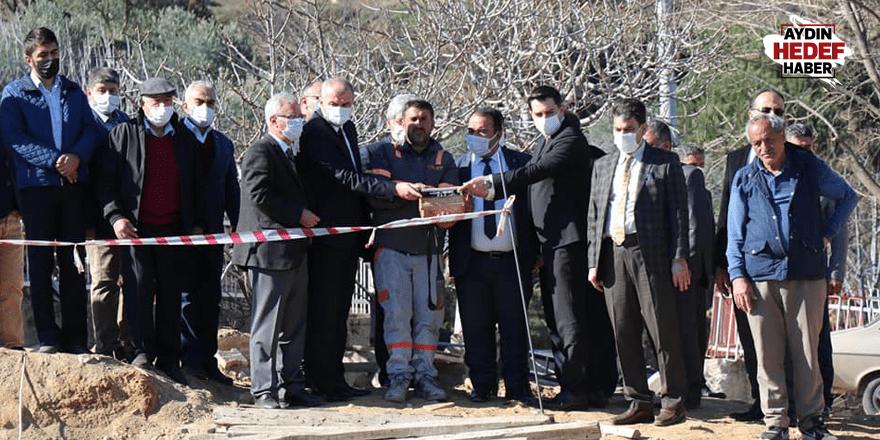 Bozdoğan'da Madran İlkokulu'nun temeli atıldı