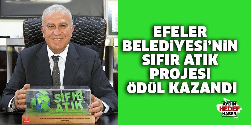 Efeler Belediyesi'nin Sıfır Atık Projesi Ödül Kazandı