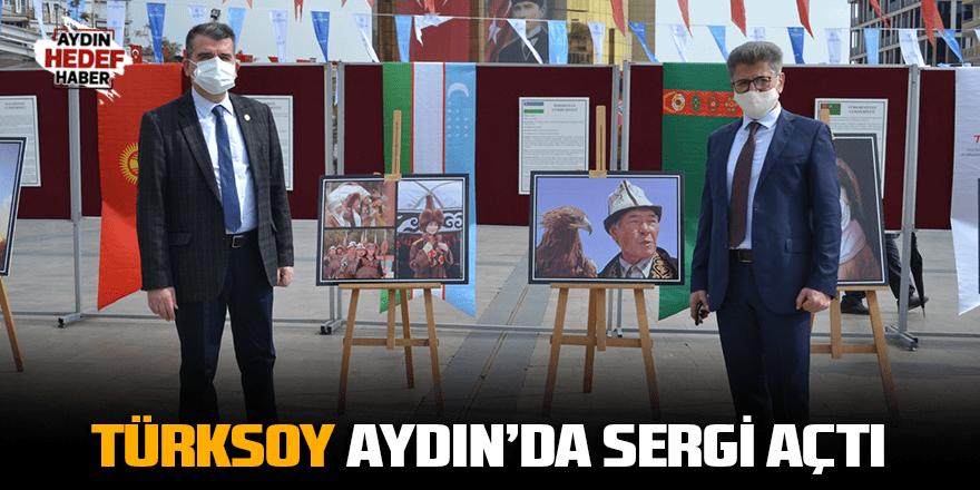TÜRKSOY Aydın'da sergi açtı