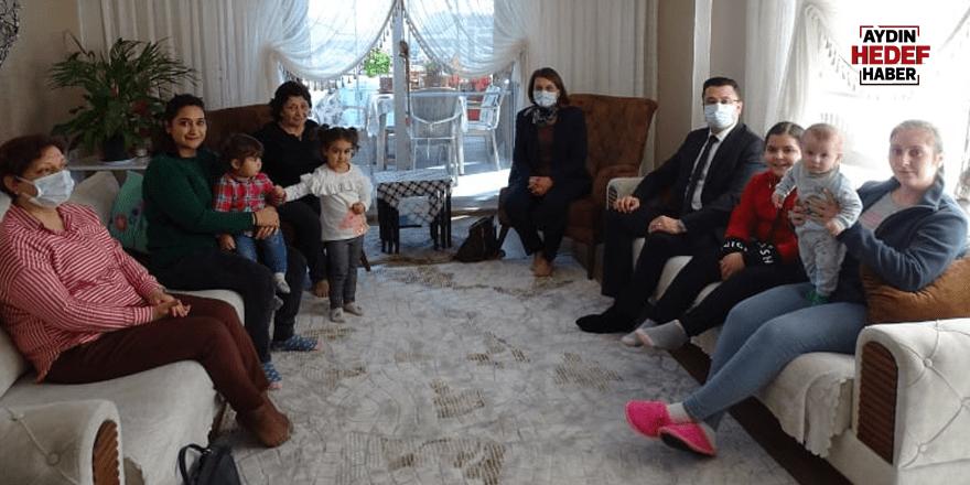 Baştürk Şehit ailelerini ziyaret etti