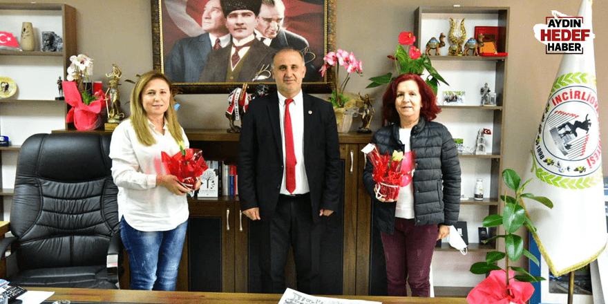 Kadın Haklarını Koruma Derneği'nden Başkan Kaya'ya ziyaret