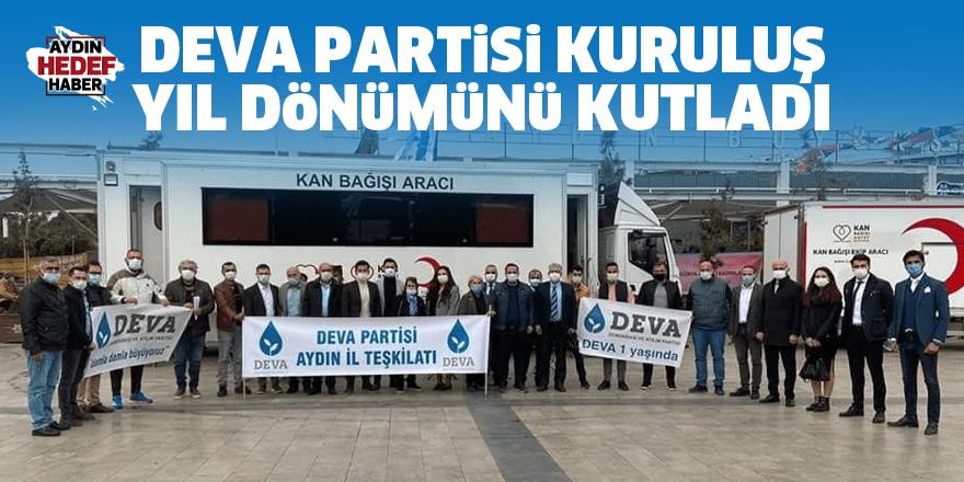 DEVA Partisi kuruluş yıl dönümünü kutladı