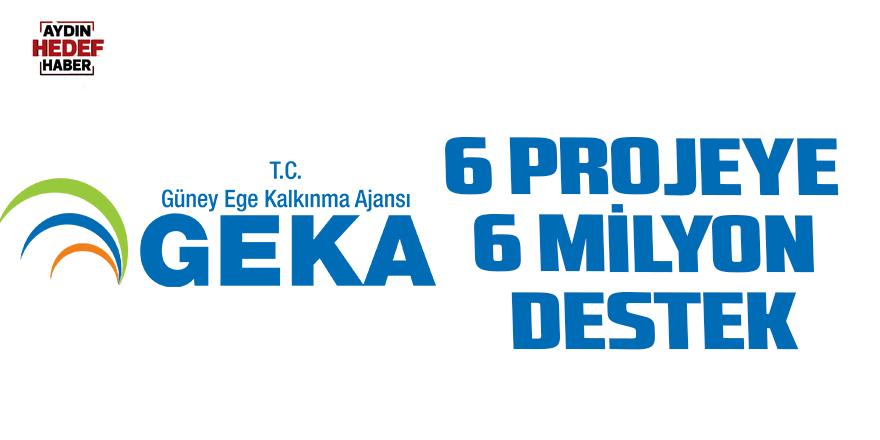 6 projeye 6 Milyon 435 bin TL destek