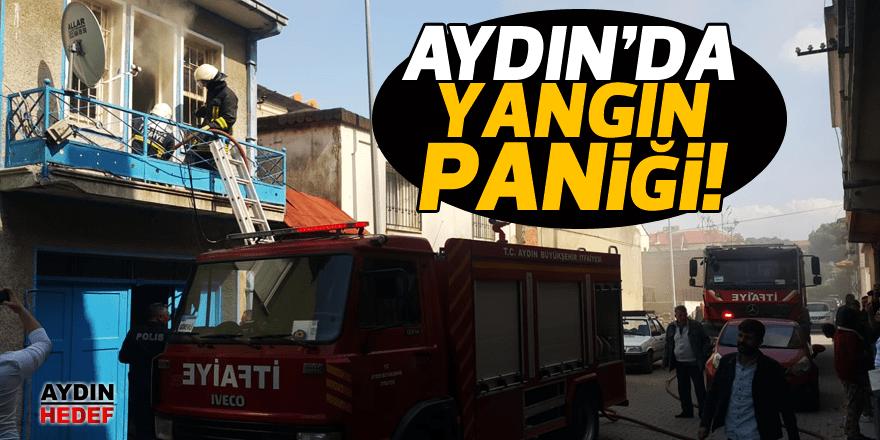 Aydın'da yangın korkuttu