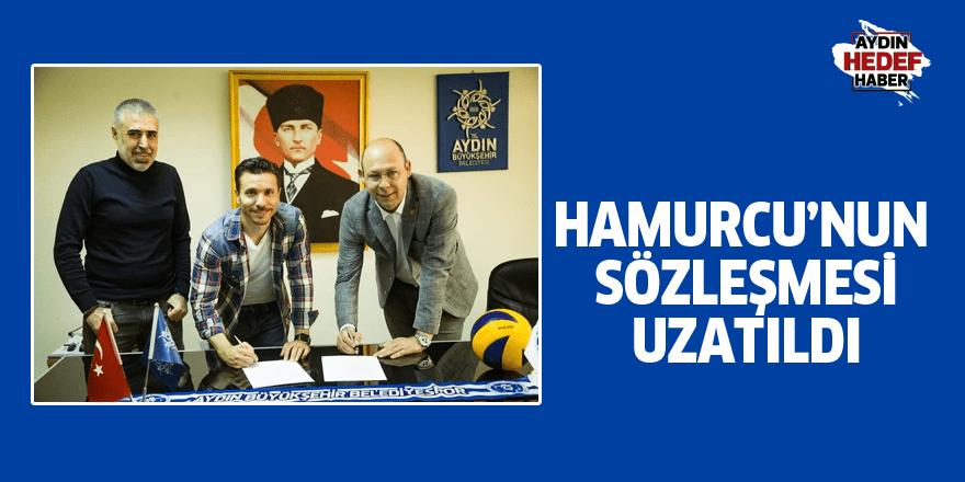 Hamurcu'nun sözleşmesi uzatıldı