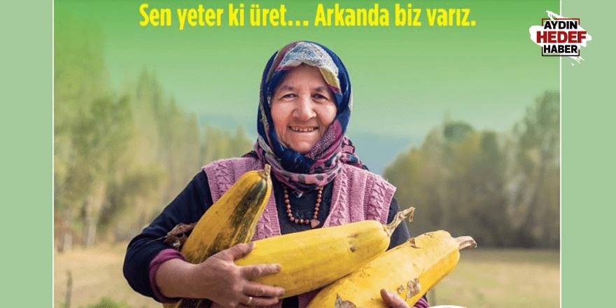 Aydın'da kadın çiftçiler için 'Kadın Çiftçi Kredisi'
