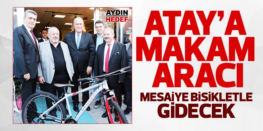Atay'a mesaiye bisiklet ile gidecek