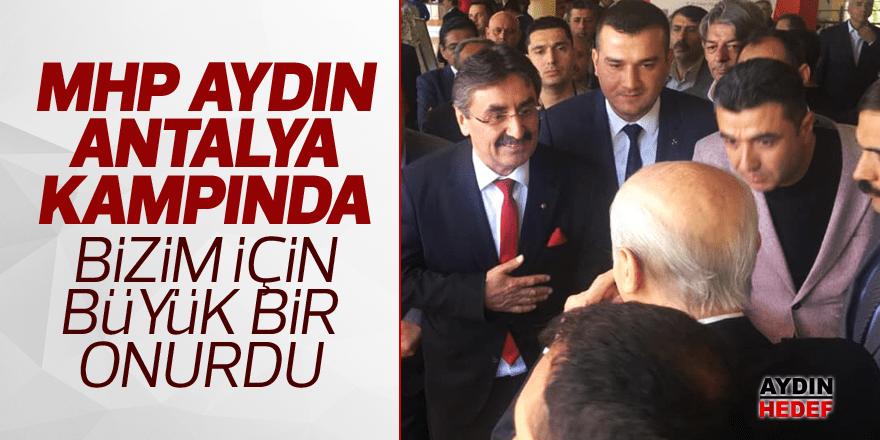 MHP'nin Antalya kampına çıkarma yaptılar