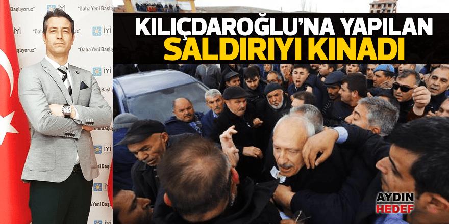 Kılıçdaroğluna yapılan saldırıyı kınadı