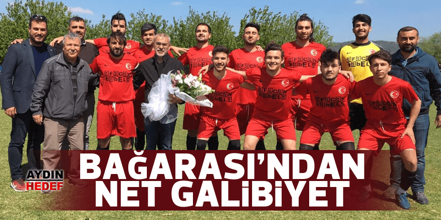 Bağarası Belediyespor'dan gol yağmuru
