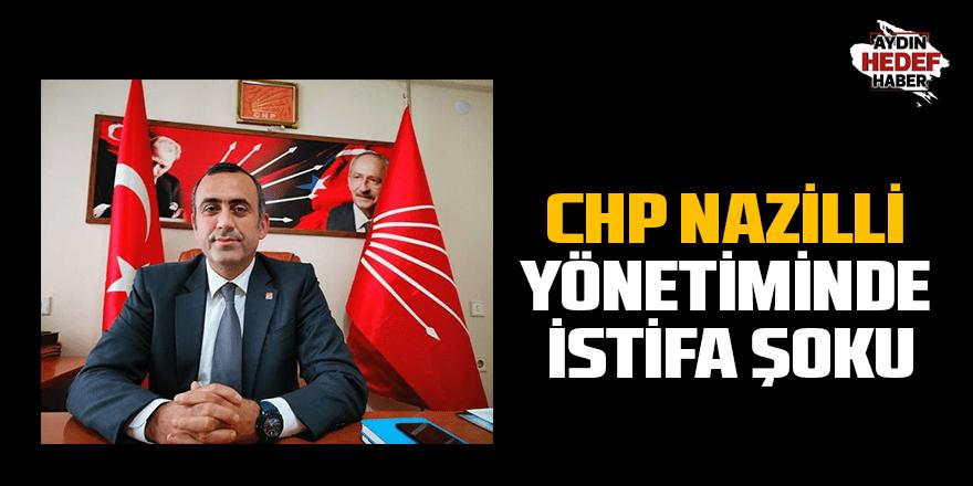 CHP Nazilli İlçe Yönetiminde istifa şoku