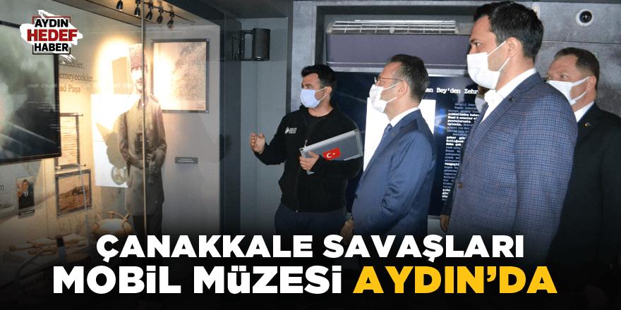 Çanakkale Savaşları Mobil Müzesi Aydın'da