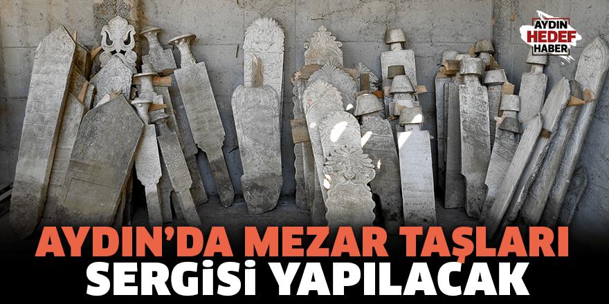 Osmanlı dönemine ait mezar taşları sergilenecek