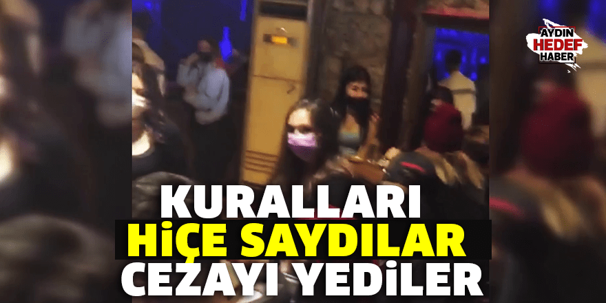 Eğlence merkezine ve müşterilerine ceza yağdı