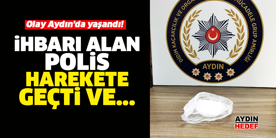 Olay Aydın'da yaşandı!